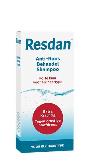 Anti-roos shampoo Resdan, voor elk haartype kuur
