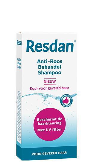Anti-roos shampoo Resdan, kuur voor geverfd haar