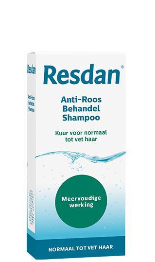 Anti-roos shampoo Resdan, voor normaal tot vet haar